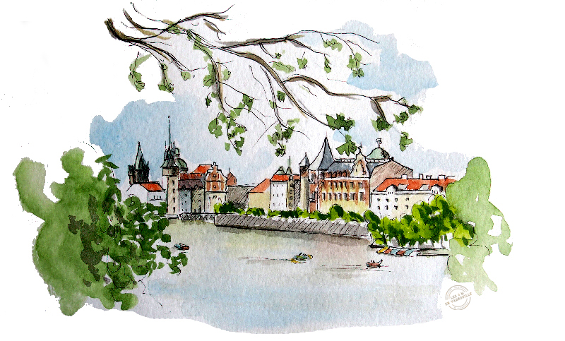 aquarelle-prague2