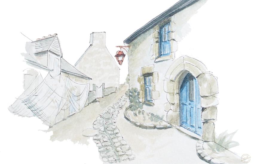 Village de caractère de Saint Suliac