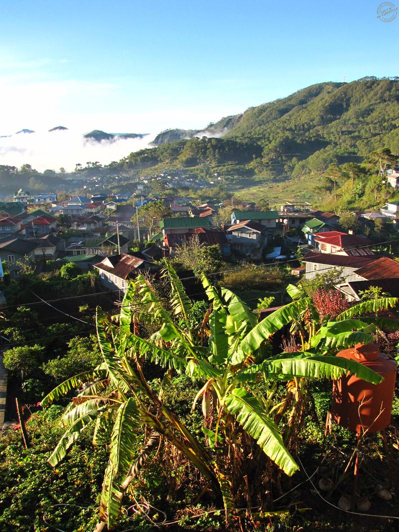 Lever de soleil sur Sagada