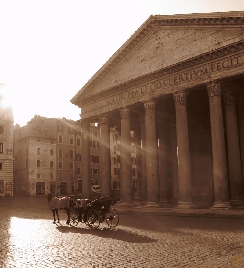Un matin hors du temps à Rome