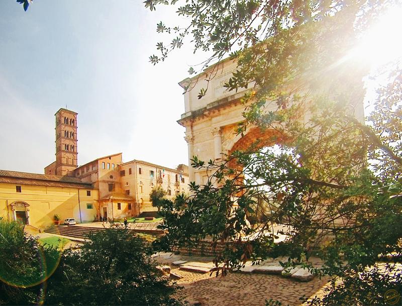 Petit matin sur le Forum romain