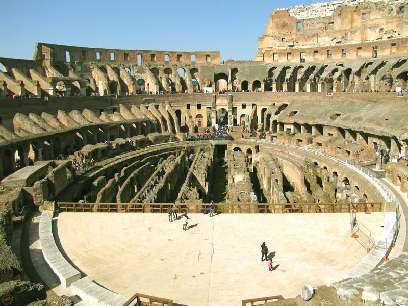 Immensité du Colisée