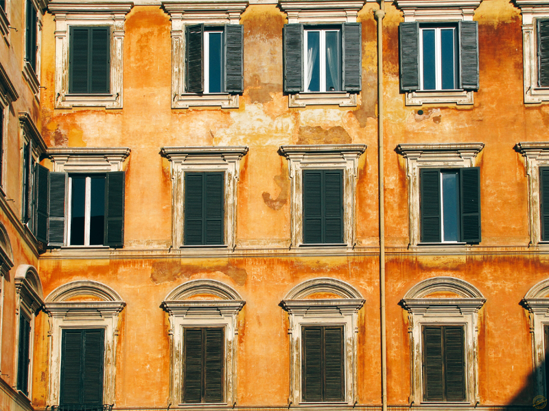 Façades italiennes