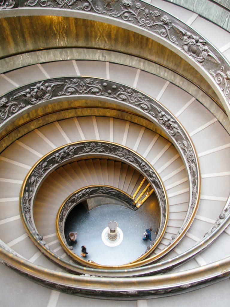 Escalier de Bramante