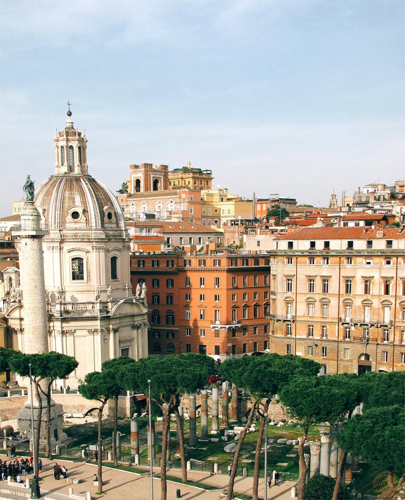Depuis la terrasse du Monument de Vittorio