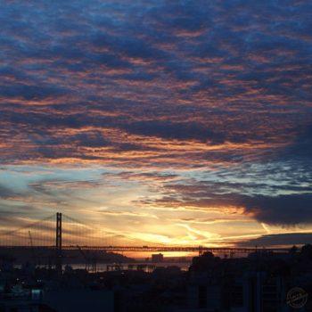 Lisbonne couhcer de soleil