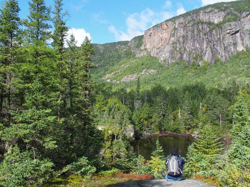 Sentier de l'Erablière - Parc des Hautes Gorges de la Rivière Malbaie