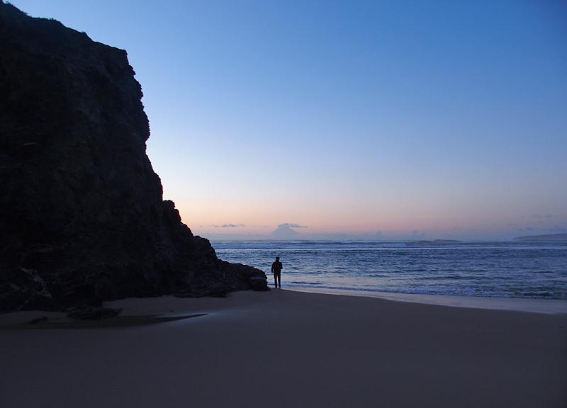 Coucher de Soleil à Vila Nova