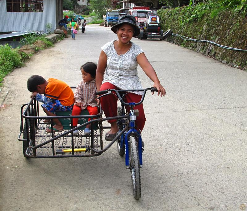Dans les rues de Banaue