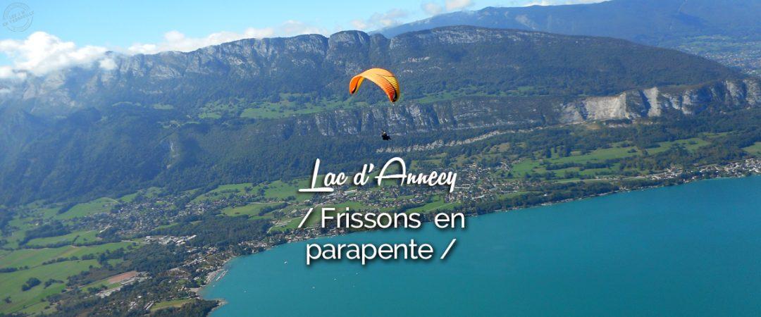Vol en parapente Annecy