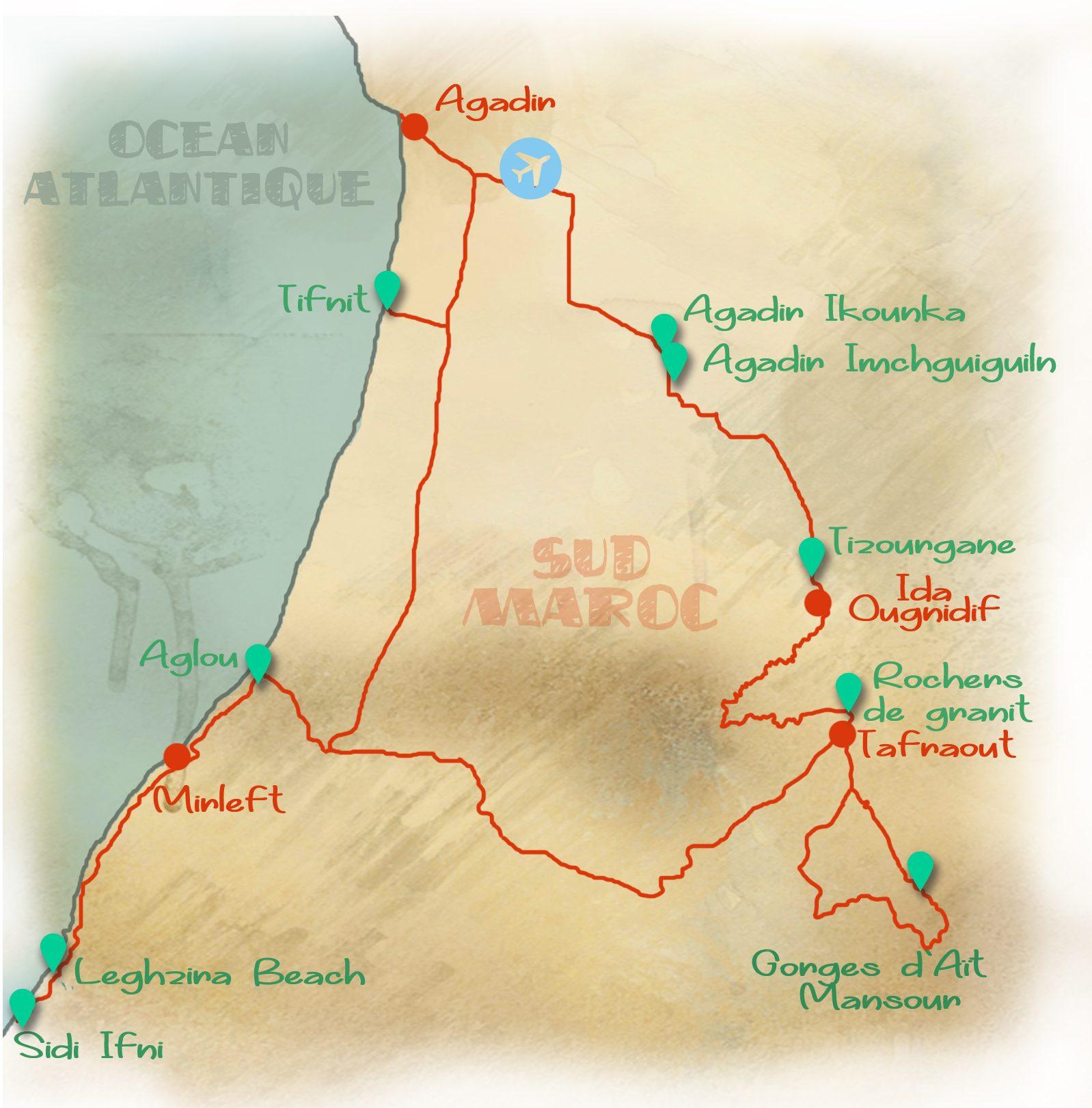 itineraire_maroc_sud